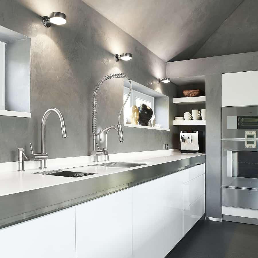 Exquisite Kitchen Faucets Merge Italian