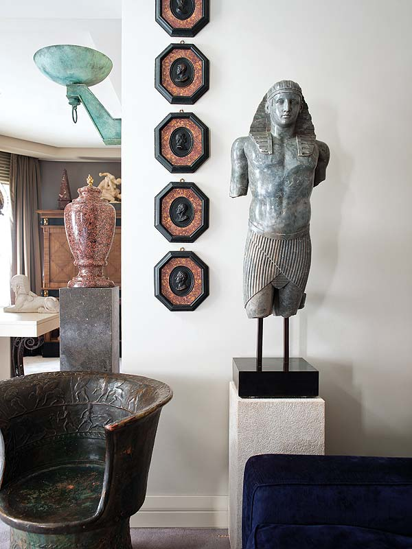 Egptian Inspired Art and Sculpture