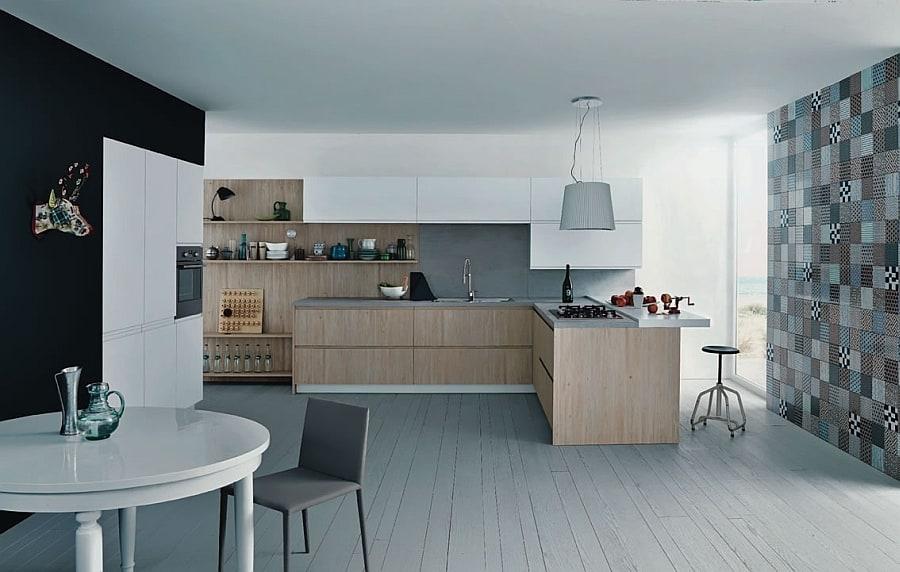 Gorgeous Mila Kitchen by CESAR designed by G. V. Plazzogna