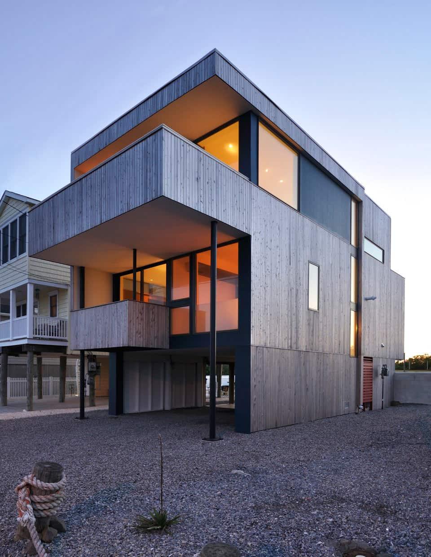 A Modern Beach House on the Jersey Shore