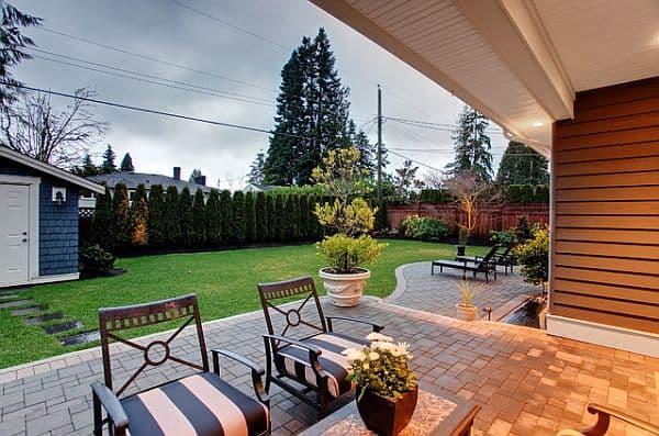 backyard contemporary patio How to Create Your Own Backyard Retreat