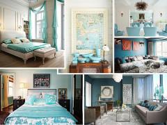 cool blue interior design