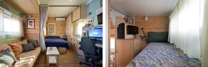 house on wheels bedroom design