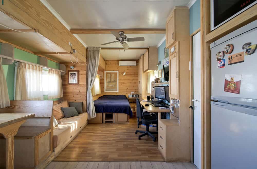 truck living room