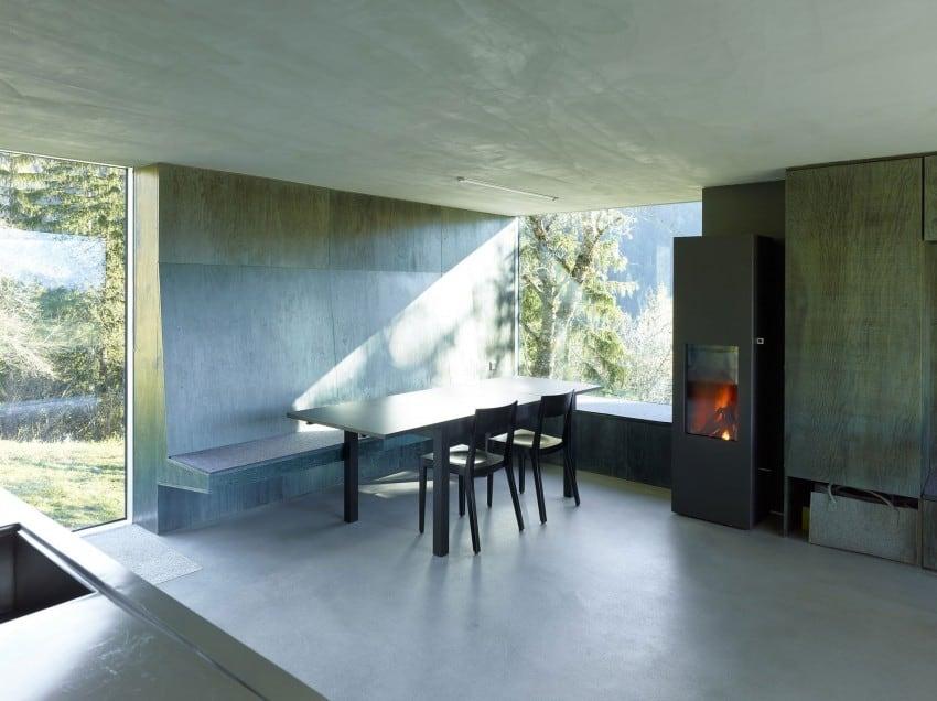 project Savioz House 10 Barn Converted into Minimalist Holiday House in Ayent, Switzerland