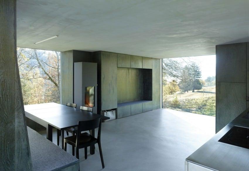 project Savioz House 11 Barn Converted into Minimalist Holiday House in Ayent, Switzerland