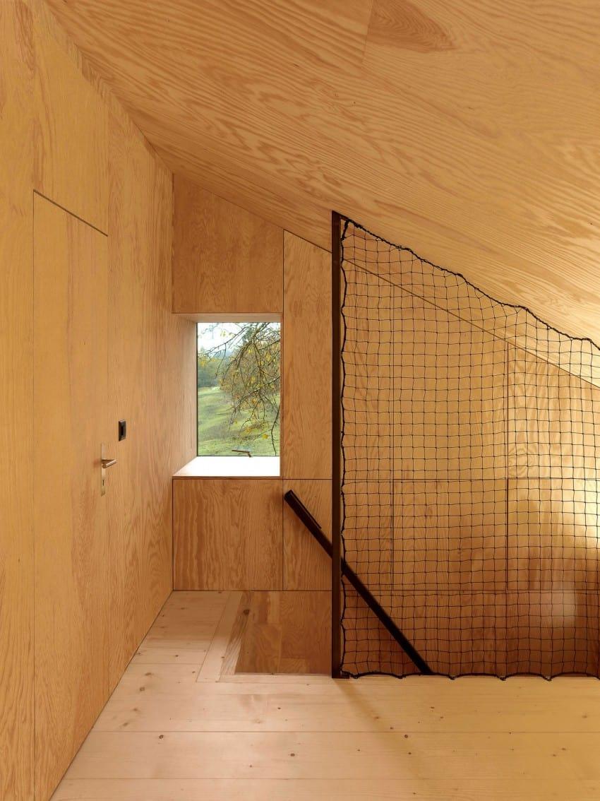 project Savioz House 12 Barn Converted into Minimalist Holiday House in Ayent, Switzerland
