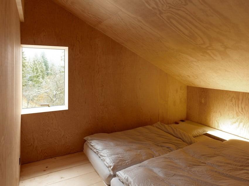 project Savioz House 13 Barn Converted into Minimalist Holiday House in Ayent, Switzerland