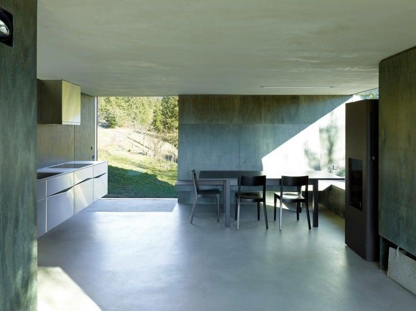 project Savioz House 9 Barn Converted into Minimalist Holiday House in Ayent, Switzerland
