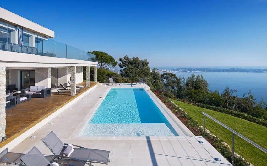 design project Cannes estate Massive Contemporary 6 Bedroom Estate in Cannes: Villa Chamade