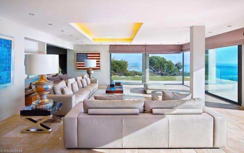project Cannes estate 11 Massive Contemporary 6 Bedroom Estate in Cannes: Villa Chamade