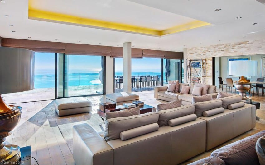 project Cannes estate 13 Massive Contemporary 6 Bedroom Estate in Cannes: Villa Chamade
