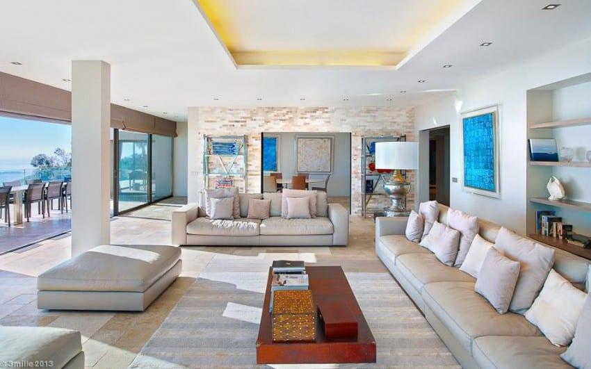 project Cannes estate 14 Massive Contemporary 6 Bedroom Estate in Cannes: Villa Chamade