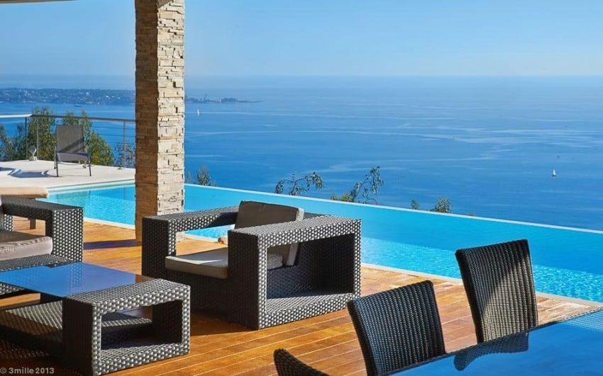 project Cannes estate 6 Massive Contemporary 6 Bedroom Estate in Cannes: Villa Chamade