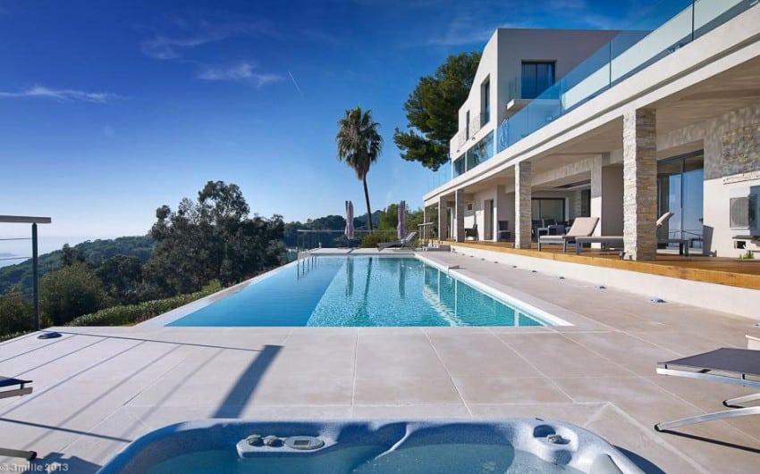 project Cannes estate 8 Massive Contemporary 6 Bedroom Estate in Cannes: Villa Chamade