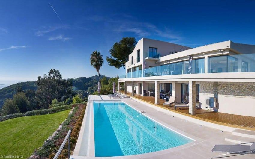 project Cannes estate 9 Massive Contemporary 6 Bedroom Estate in Cannes: Villa Chamade