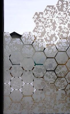 Make Your Own Window Film Design Do On Between Kitchen Storage Room Diy