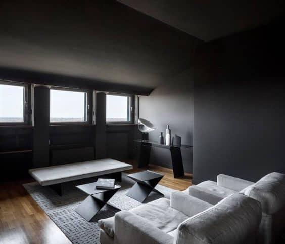 Living area Living Area, Interior Design, Velasca Picture, Attico Torre, Picture Gallery, Interiors