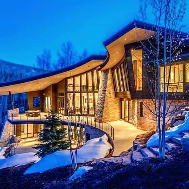Modern mountain lodge - Modern, Lodge Follow, Dream