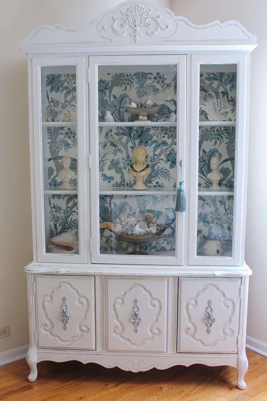 Royal  Vintage China Cabinet